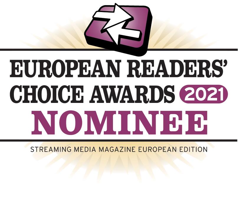 Streaming Media European Readers' Choice Awards 2021