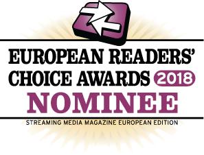 Streaming Media European Readers Choice Awards 2018