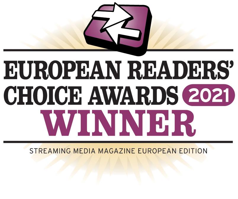 castLabs wins Streaming Media Readers' Choice Awards 2021