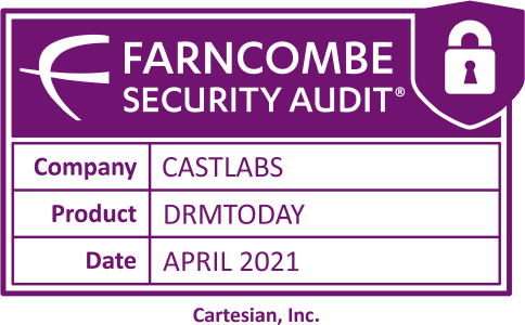Cartesian's Farncombe Security Audit for DRMtoday