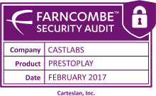 Farncombe Security Audit for PRESTOplay