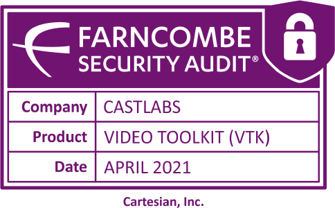 Cartesian's Farncombe Security Audit for Video Toolkit