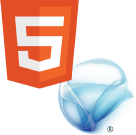 HTML5 with Silverlight fallback