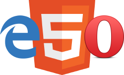 New HTML5/EME browser support: Edge and Opera