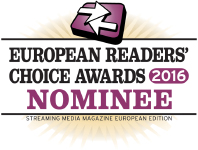 2016 Streaming Media European Readers' Choice Awards