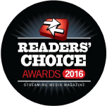 2016 Streaming Media Readers' Choice Awards