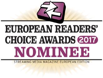 Streaming Media European Readers' Choice Awards 2017