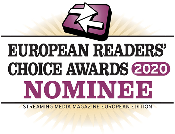 Streaming Media European Readers' Choice Awards 2020