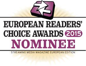 Streaming Media European Readers' Choice Awards 2015