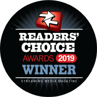 castLabs wins Streaming Media Readers' Choice Awards 2019