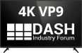 VP9 & MPEG-DASH 4K